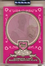 2006 Bowman Sterling Encased Printing Plates Magenta #JS James Shields