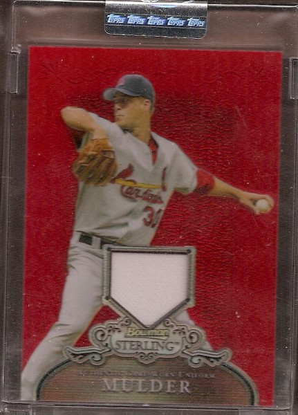2006 Bowman Sterling Red Refractors #MM Mark Mulder Pants