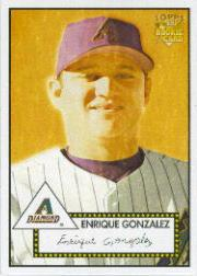 2006 Topps 52 #2 Enrique Gonzalez (RC)