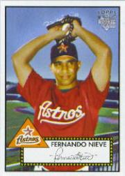 2006 Topps 52 #17 Fernando Nieve (RC)