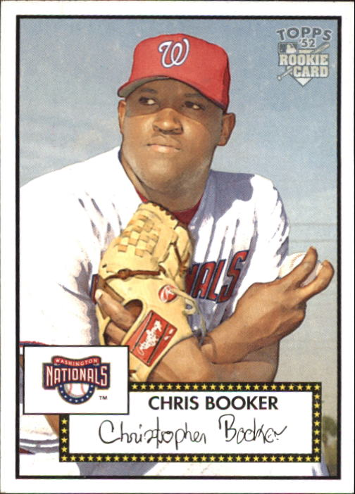2006 Topps 52 #18 Chris Booker (RC)