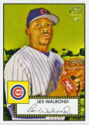2006 Topps 52 #28 Les Walrond (RC)