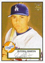 2006 Topps 52 #30 Russell Martin (RC)