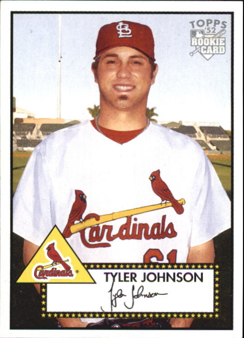 2006 Topps 52 #90 Tyler Johnson (RC)