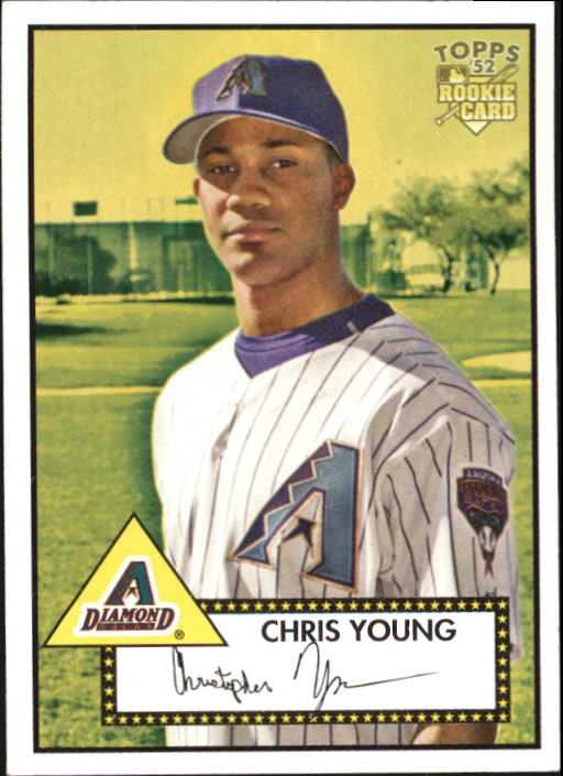 2006 Topps 52 #175 Chris B. Young (RC)