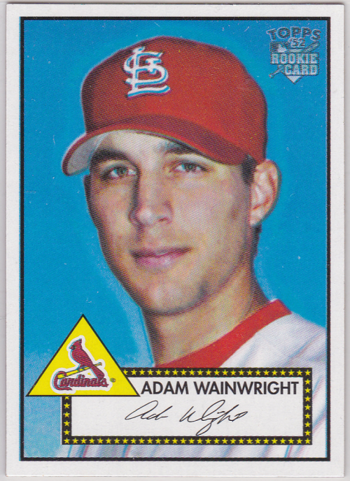 2006 Topps 52 #183 Adam Wainwright (RC)