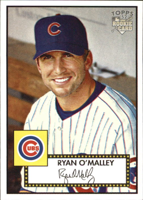 2006 Topps 52 #206 Ryan O'Malley RC