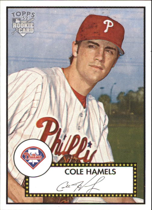 2006 Topps 52 #225A Cole Hamels (RC)