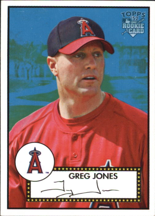 2006 Topps 52 #259 Greg Jones (RC)