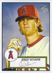 2006 Topps 52 #299 Jered Weaver SP (RC)