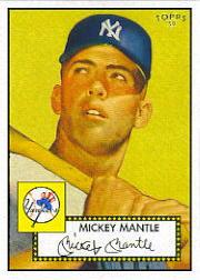 2006 Topps 52 #311F Mickey Mantle Yellow