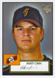 2006 Topps 52 #88B Matt Cain 52 Logo