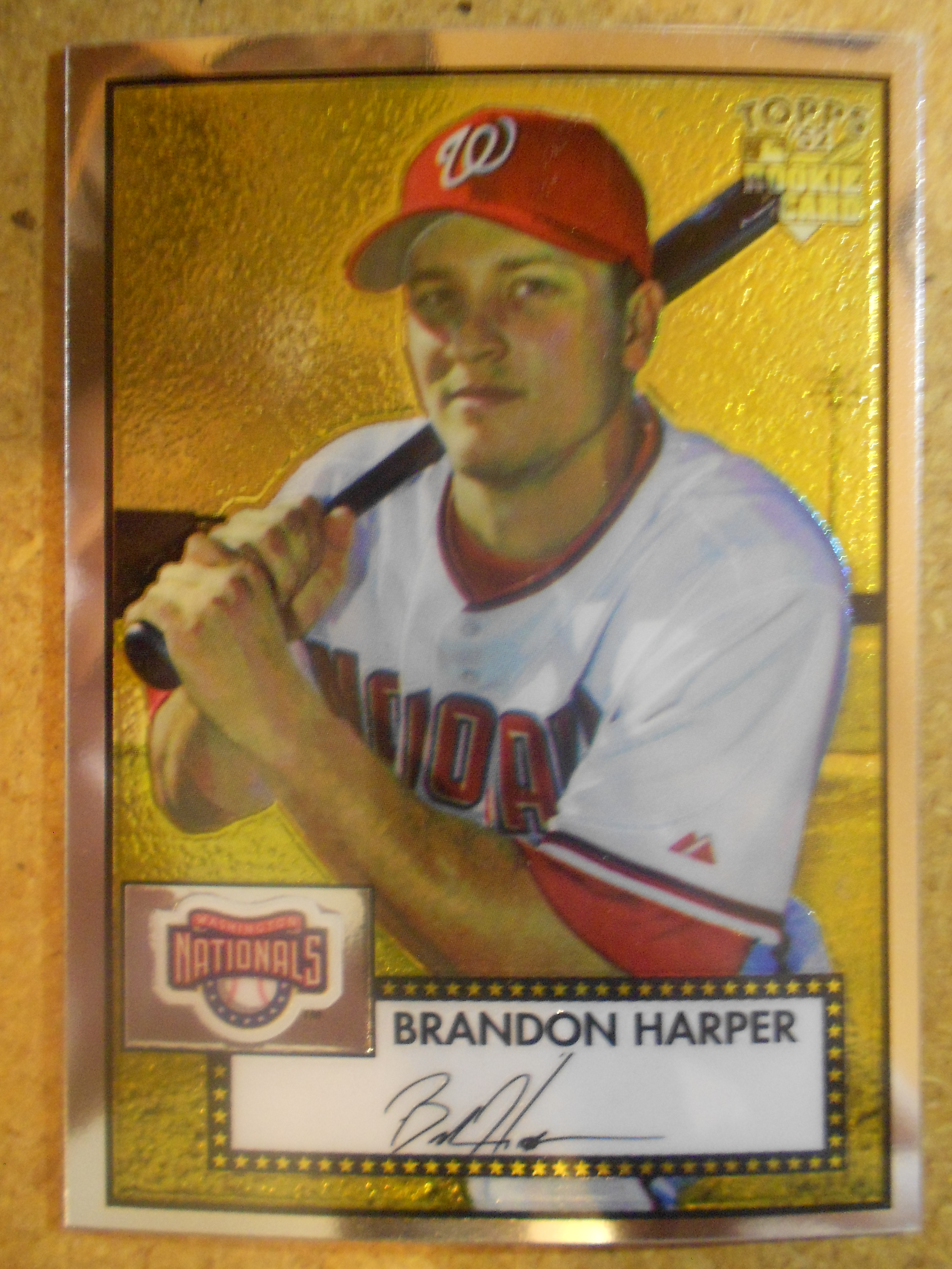 2006 Topps 52 Chrome #53 Brandon Harper