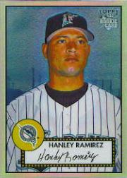 2006 Topps 52 Chrome Refractors #20 Hanley Ramirez UER