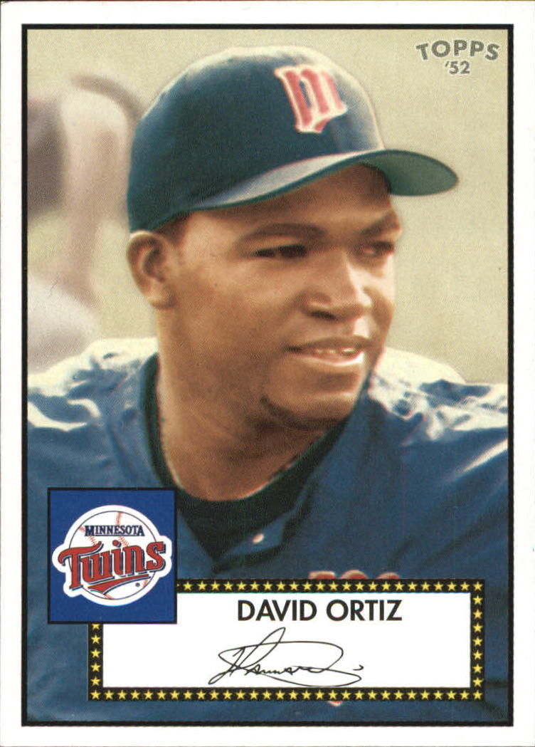 2006 Topps 52 Debut Flashbacks #DF9 David Ortiz