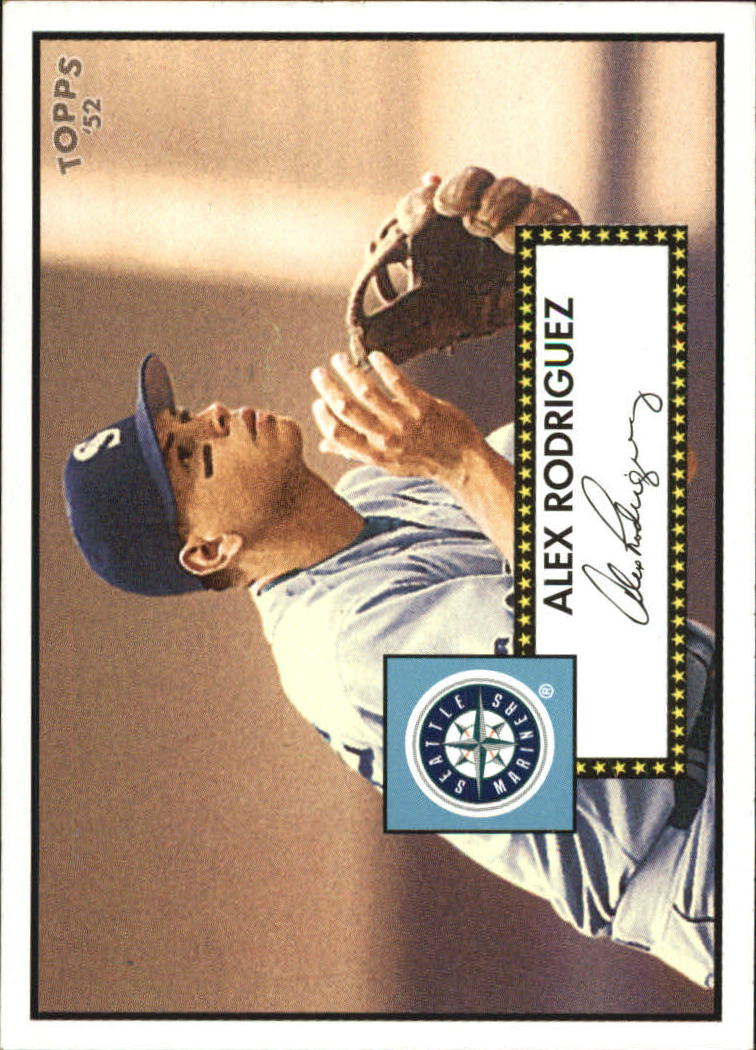 2006 Topps 52 Debut Flashbacks #DF15 Alex Rodriguez