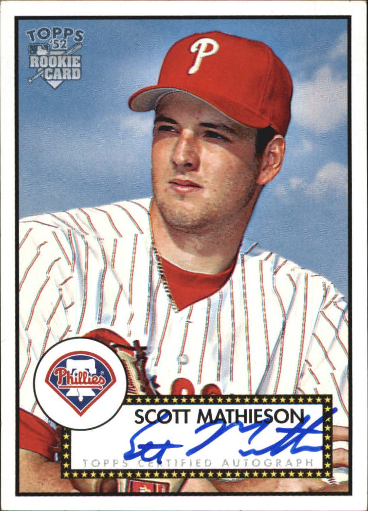 2006 Topps 52 Signatures #SM Scott Mathieson I