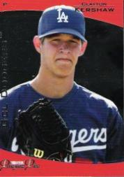 2006 TRISTAR Prospects Plus #27 Clayton Kershaw PD