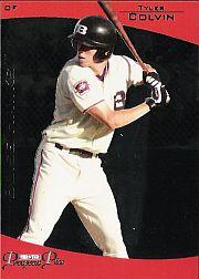 2006 TRISTAR Prospects Plus #38 Tyler Colvin PD