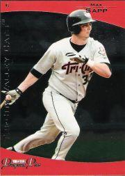 2006 TRISTAR Prospects Plus #39 Max Sapp PD