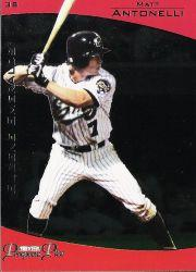 2006 TRISTAR Prospects Plus #46 Matt Antonelli PD