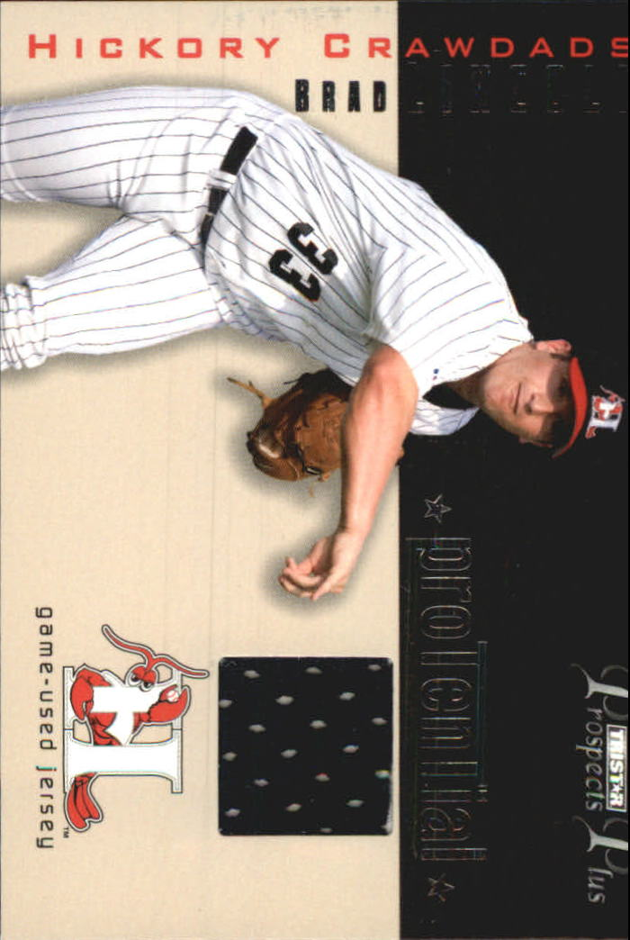 2006 TRISTAR Prospects Plus ProTential Game Used 250 #BL Brad Lincoln Jsy