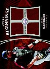 2006 Sweet Spot Update Sweet Beginnings Swatches #VM Victor Martinez