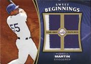 2006 Sweet Spot Update Sweet Beginnings Patches #RM Russell Martin