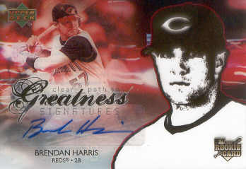 2006 Upper Deck Future Stars #151 Brendan Harris AU (RC)