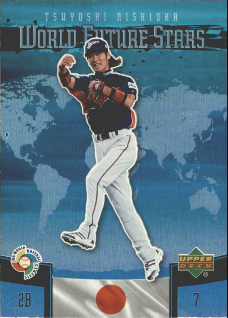 2006 Upper Deck Future Stars World Future Stars #14 Tsuyoshi Nishioka
