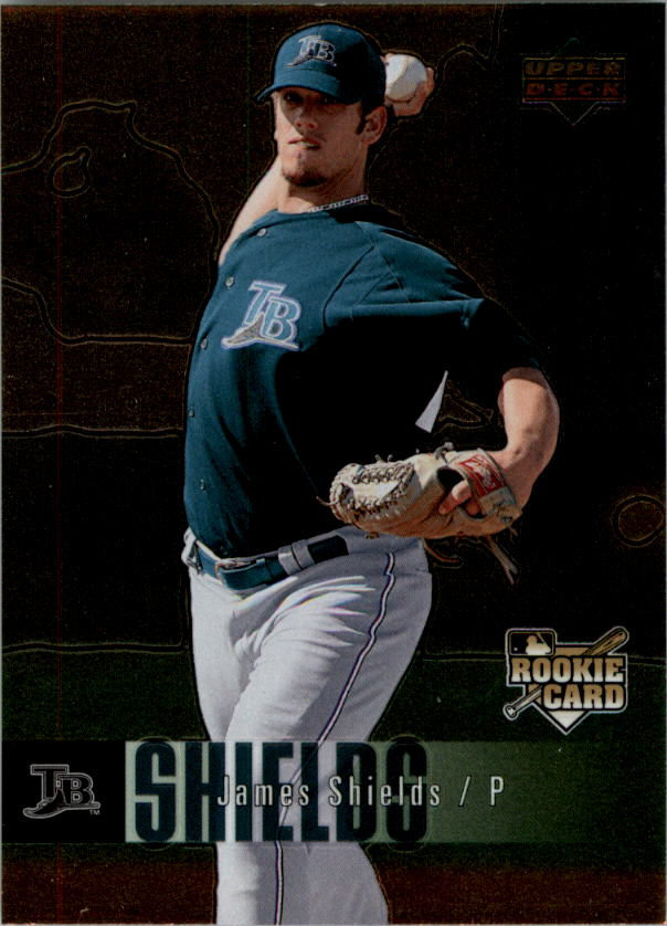 2006 Upper Deck Special F/X #981 James Shields RC