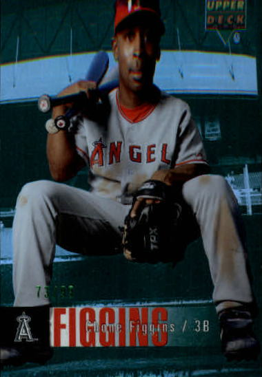 2006 Upper Deck Special F/X Green #5 Chone Figgins