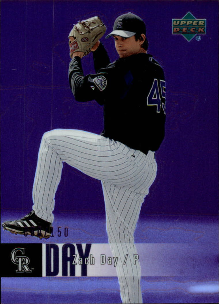 2006 Upper Deck Special F/X Purple #604 Zach Day