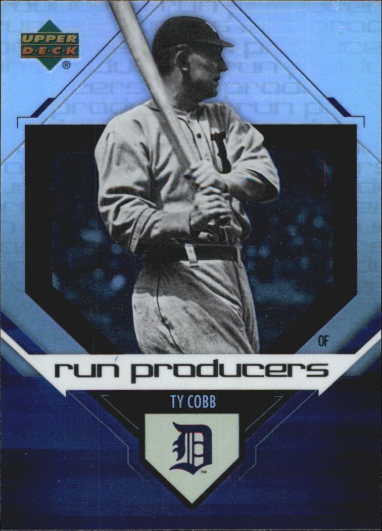 2006 Upper Deck Special F/X Run Producers #1 Ty Cobb