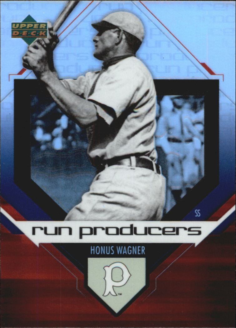 2006 Upper Deck Special F/X Run Producers #20 Honus Wagner