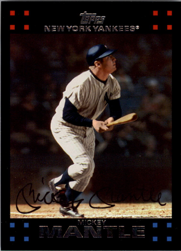 2007 Topps #7 Mickey Mantle