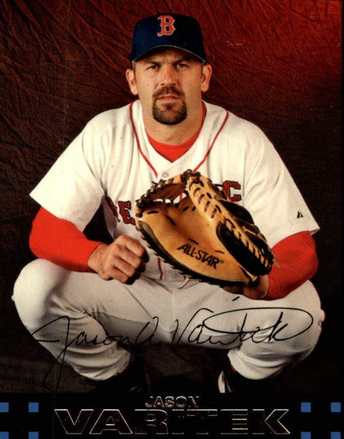 2007 Topps Red Back #16 Jason Varitek