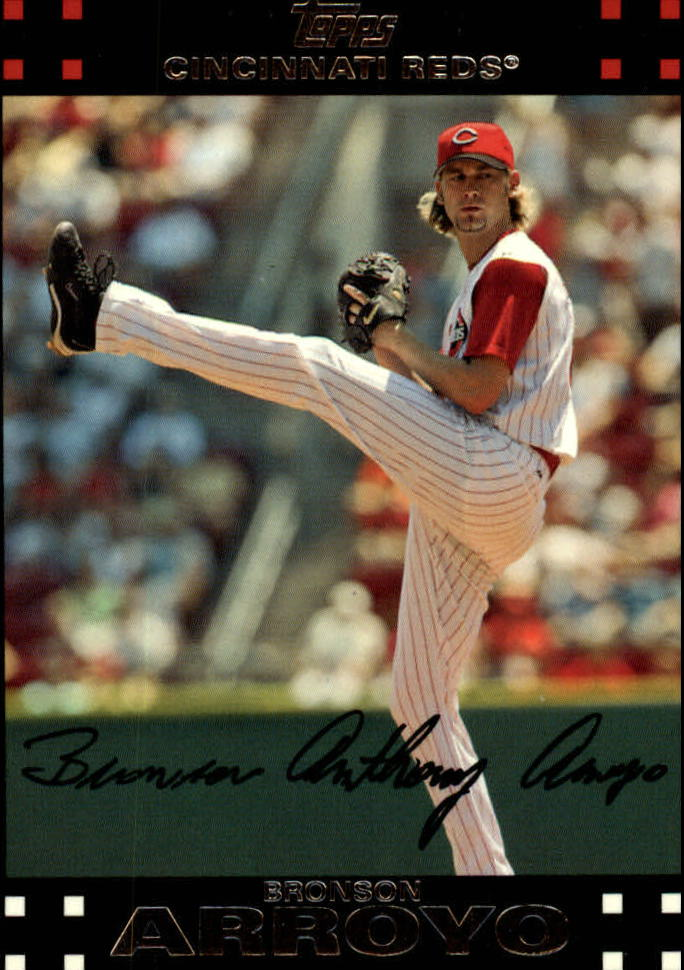 2007 Topps Red Back #30 Bronson Arroyo