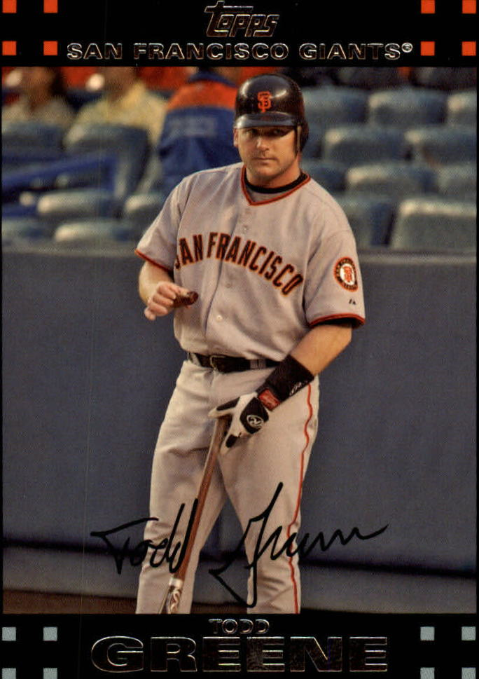 2007 Topps Red Back #44 Todd Greene