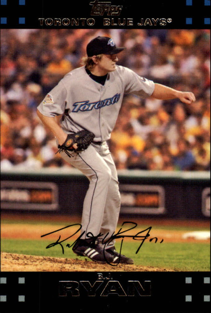 2007 Topps Red Back #115 B.J. Ryan