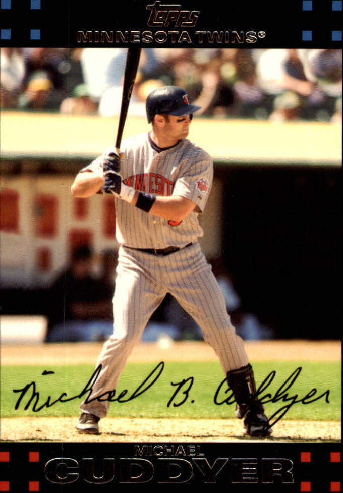 2007 Topps Red Back #119 Michael Cuddyer