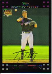 2007 Topps Red Back #135 Troy Tulowitzki