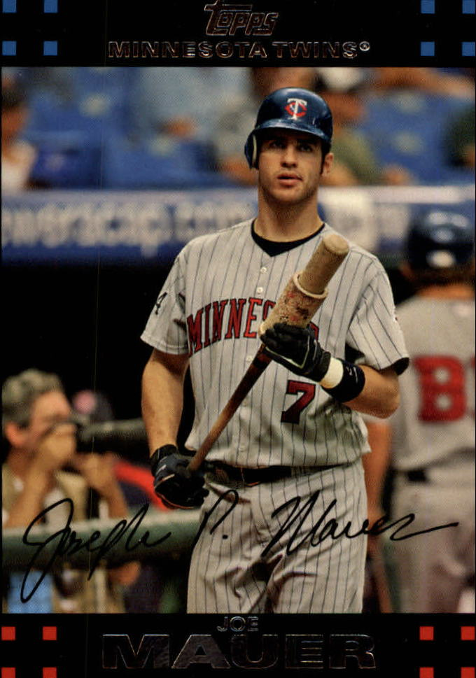 2007 Topps Red Back #325 Joe Mauer