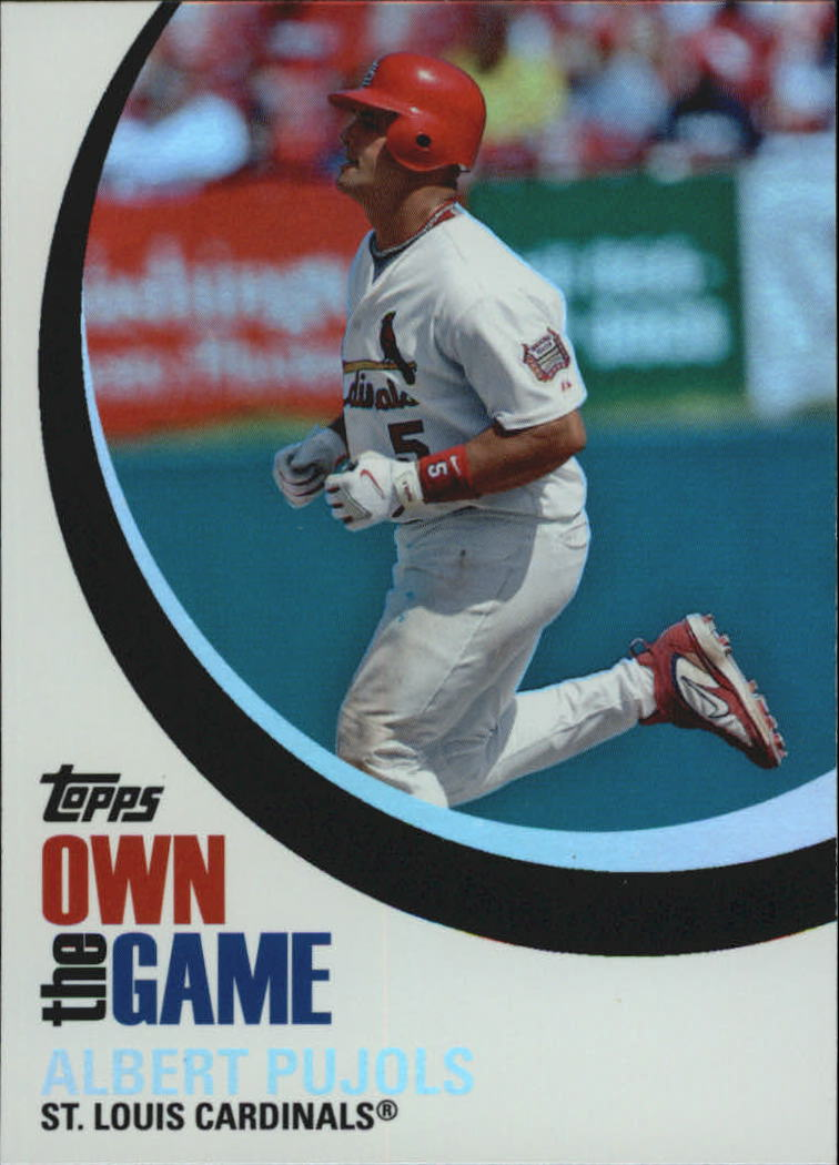 2007 Topps Own the Game #OTG4 Albert Pujols