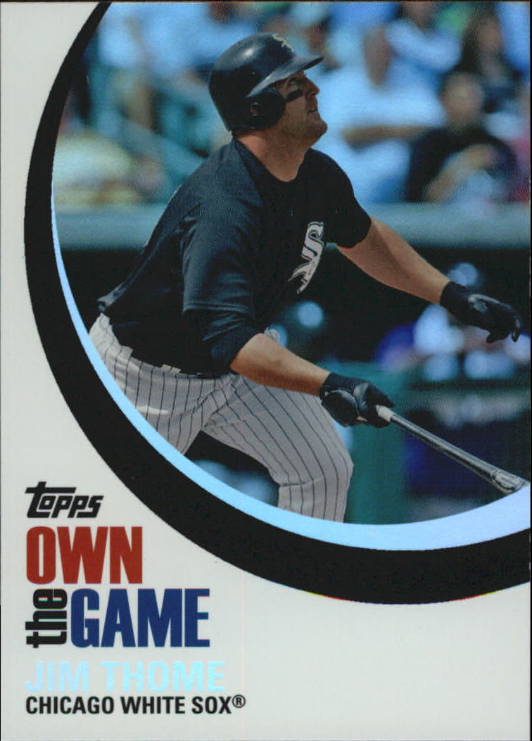 2007 Topps Own the Game #OTG8 Jim Thome