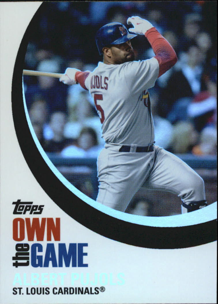2007 Topps Own the Game #OTG13 Albert Pujols