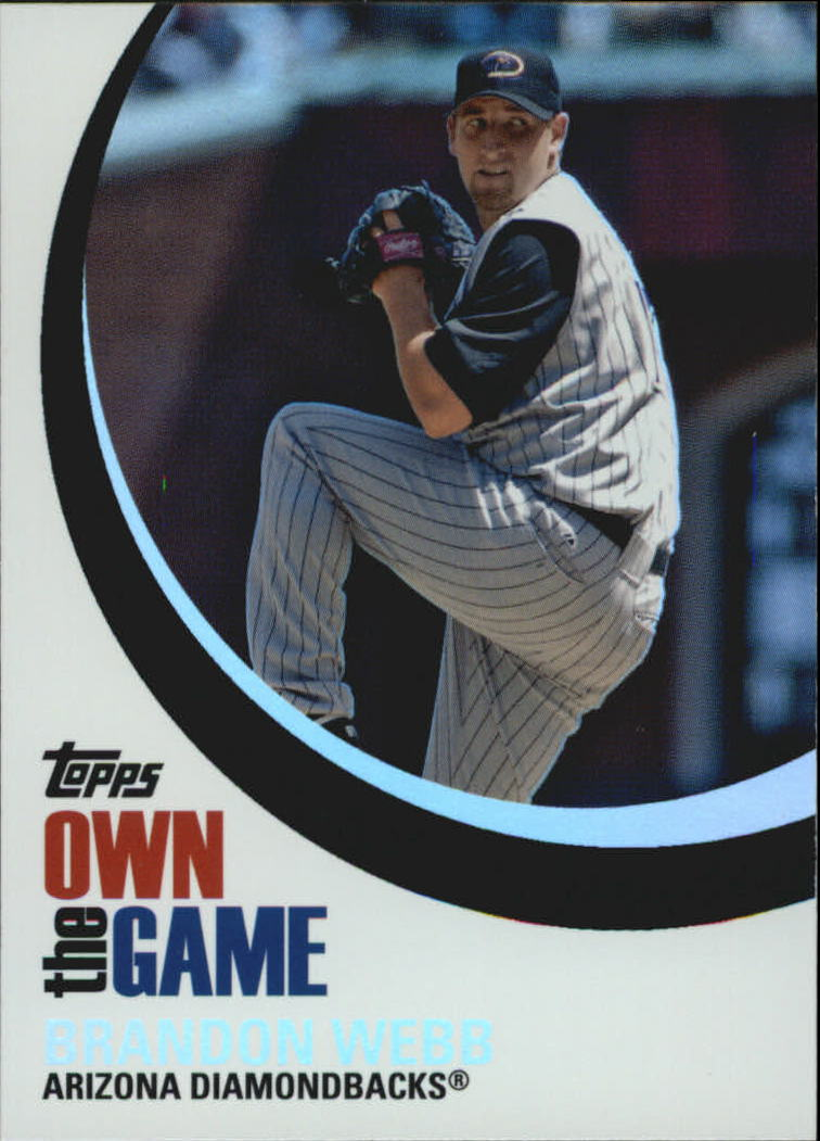 2007 Topps Own the Game #OTG23 Brandon Webb front image