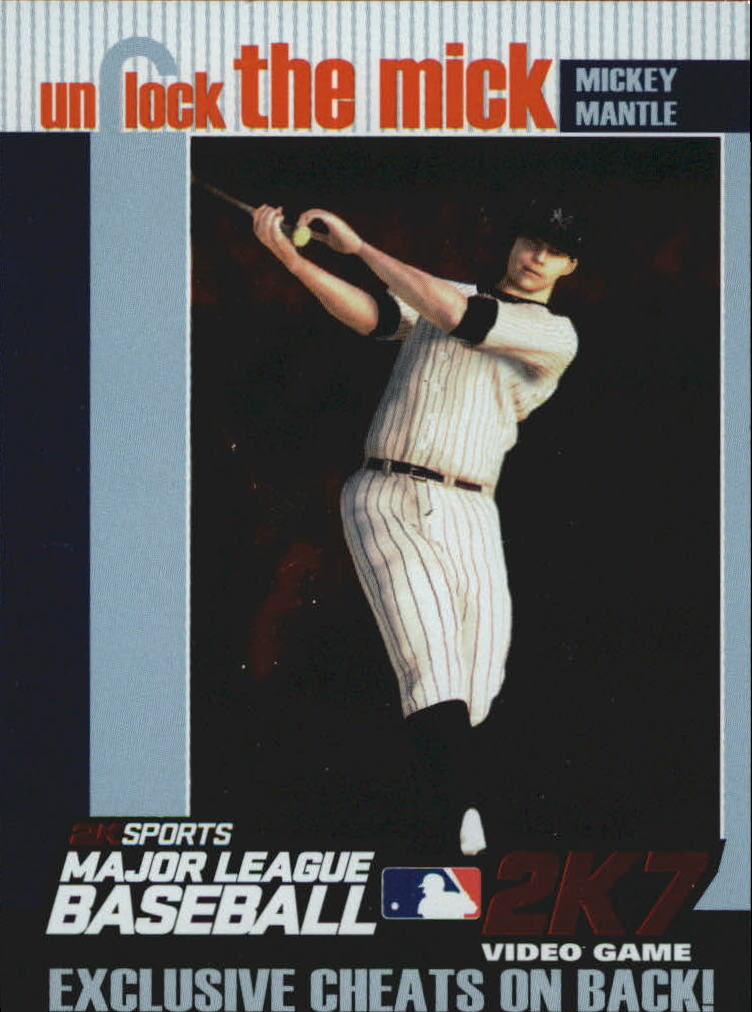 2007 Topps Unlock the Mick #UTM1 Mickey Mantle