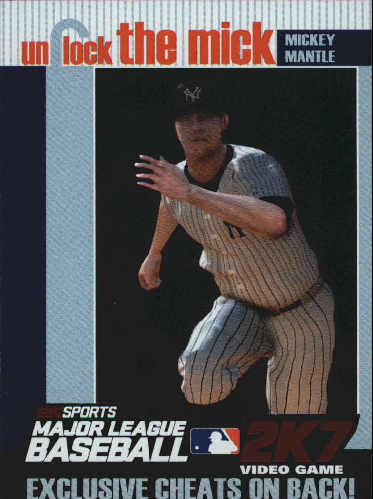 2007 Topps Unlock the Mick #UTM4 Mickey Mantle