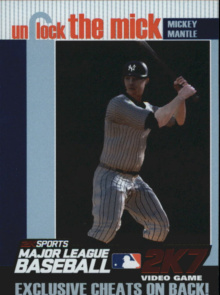 2007 Topps Unlock the Mick #UTM5 Mickey Mantle